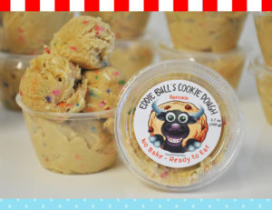 Eddie Bulls Cookie Dough raw cookie dough edible cookie dough Valrico